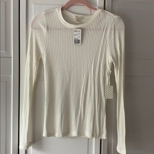 Forever 21 Womens silky henley size M